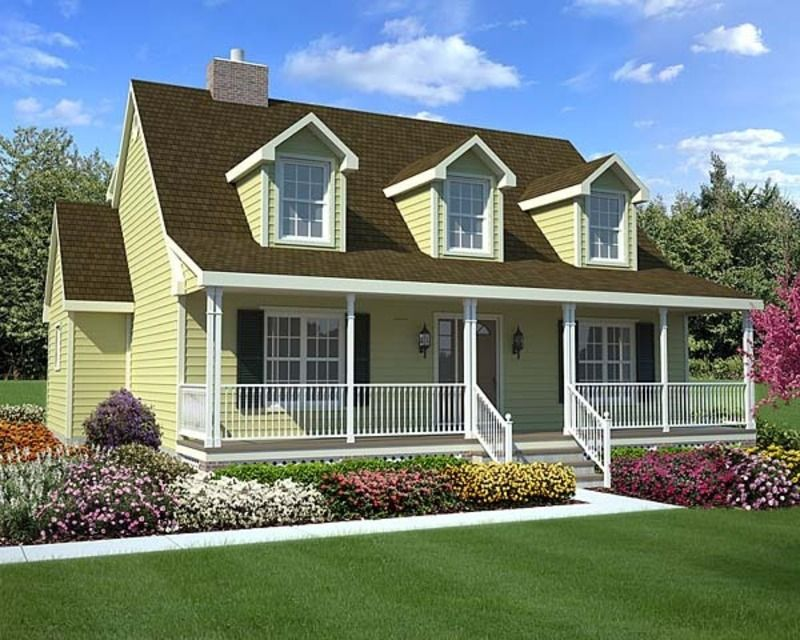 Simple in design and rich in character cape cod house for Rich house plans
