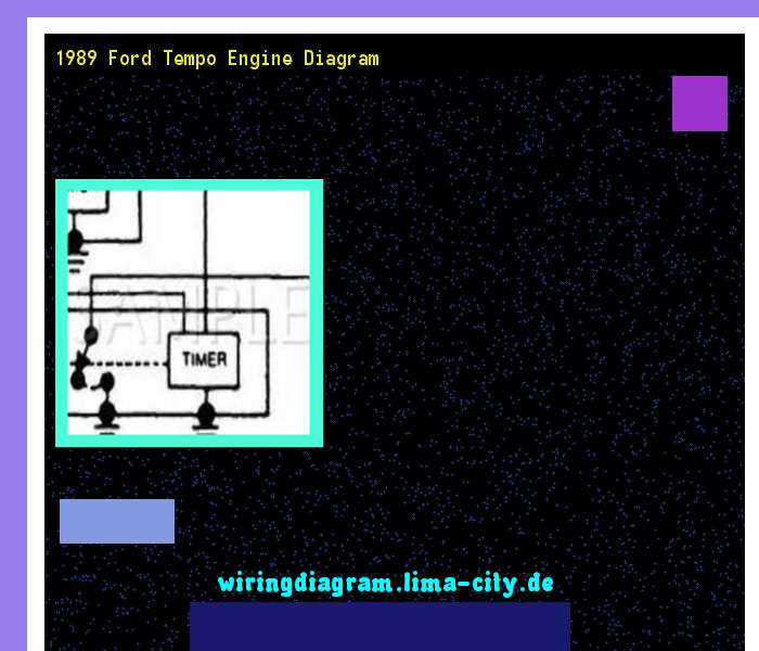 1989 Ford Tempo Engine Diagram House Wiring Diagram Symbols