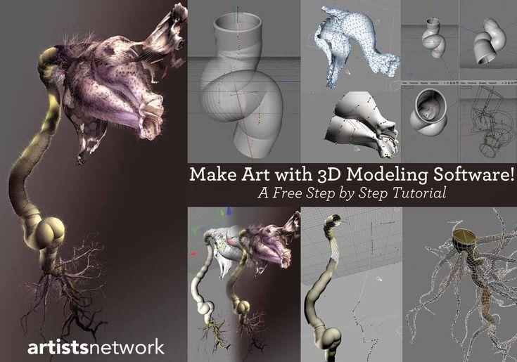 FREE Digital Art Tutorials for Beginners -