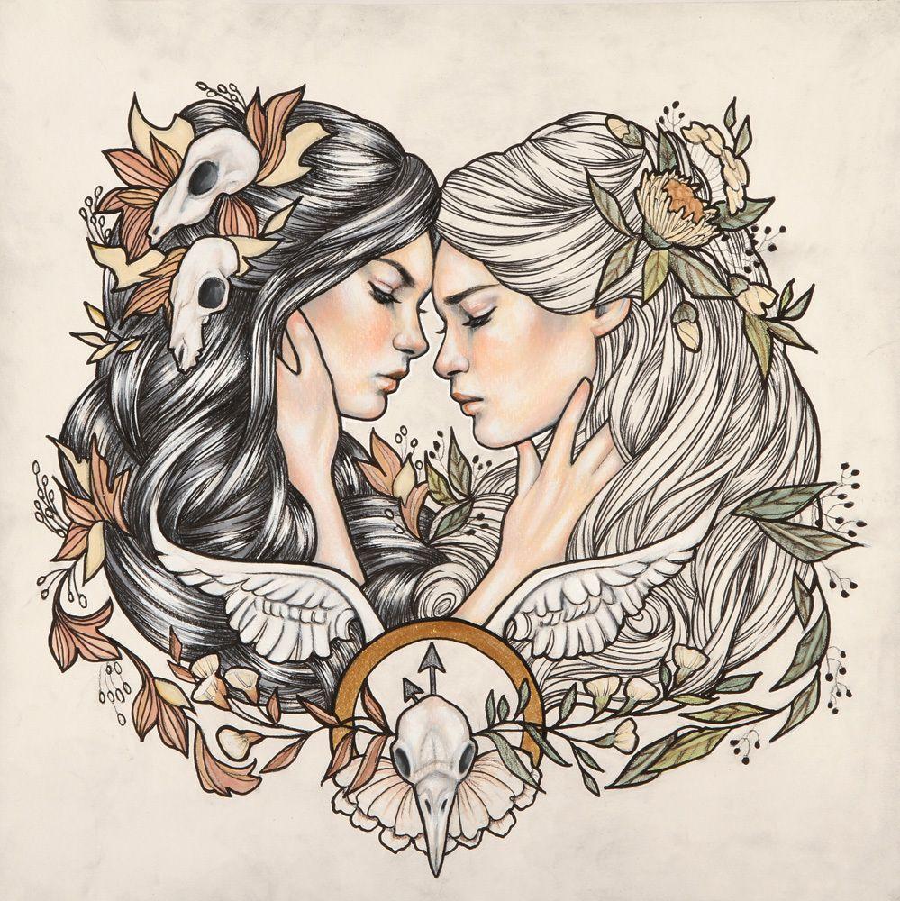 The End Is Always Near Print Gemini Tattoo Gemini Art Body Art Tattoos