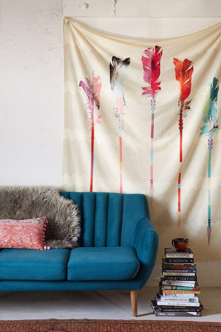 Iveta Abolina For DENY Feathered Arrows Tapestry
