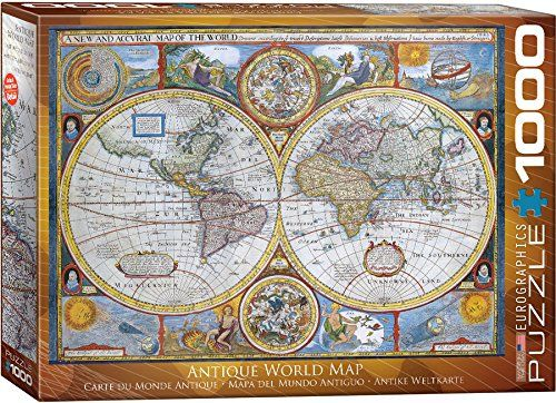 Old world map jigsaw puzzle old world map jigsaw puzzle jigsaw puzzles for adults gumiabroncs Image collections