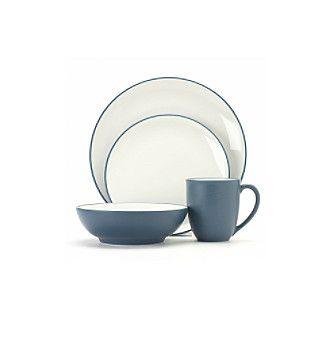 Noritake Colorwave Blue Dinnerware & Accessories at www.carsons.com