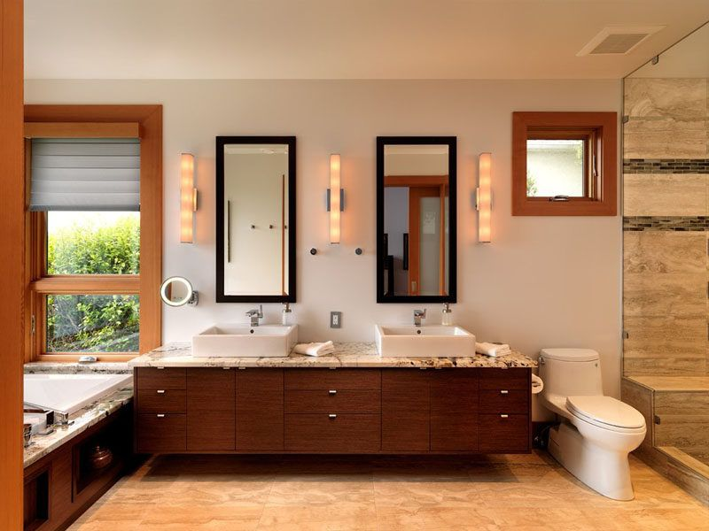 5 Bathroom Mirror Ideas For A Double Vanity Bathroom Mirrors Diy Unique Bathroom Mirrors Wooden Bathroom Mirror