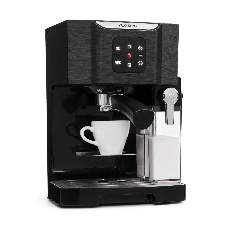 Klarstein BellaVita Cafetière • Fonction 3 en 1 pour espresso, cappuccino  et latte macchiato • 7e2e405f31cb