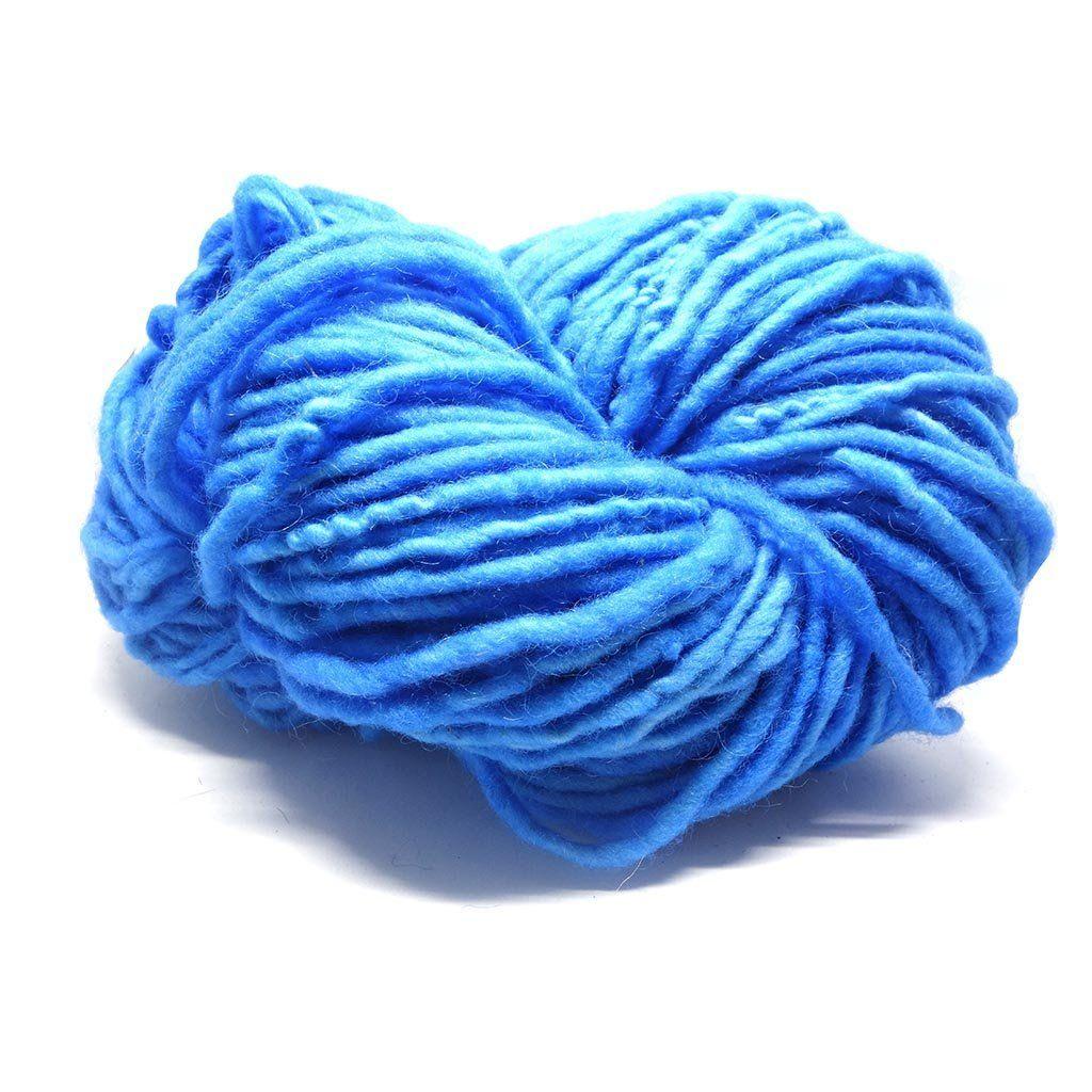 Sky Handspun Tapestry Wool Weaving Yarn