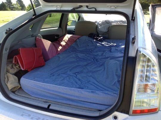 Prius Camping Prius Camping Pinterest Van Camping
