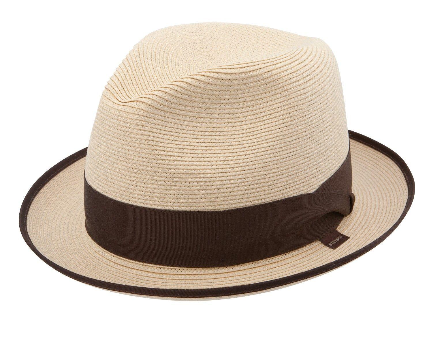 0ef064698 Stetson Latte Milan Braid Straw Fedora | Hats in 2019 | Straw fedora ...