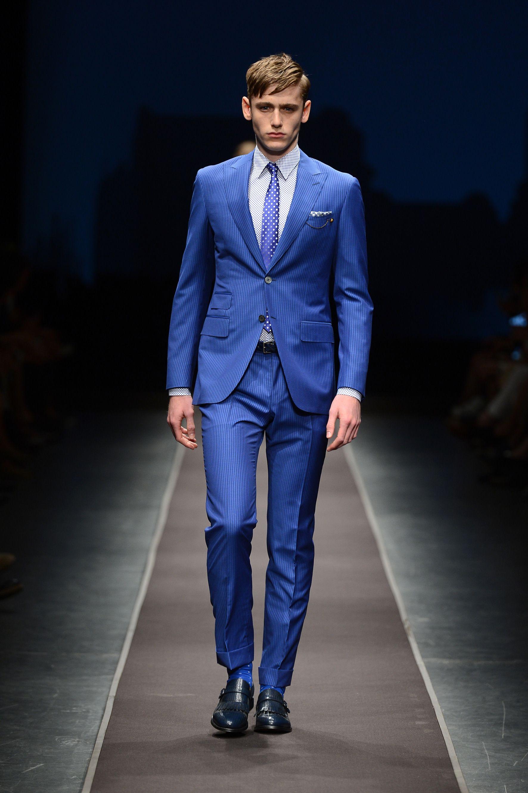 Canali Menswear SS14 Show, Milan