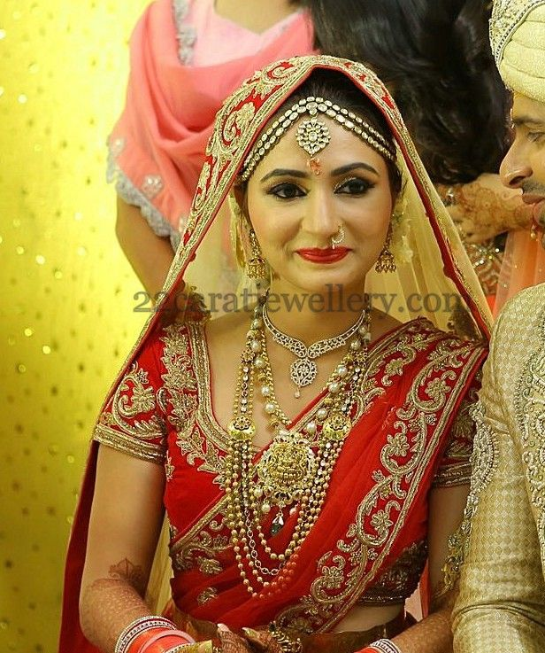 Actress Dhriti Wedding Jewellery Wedding jewelry Actresses and