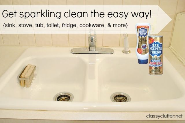 Spring Cleaning My Secret Weapon For Cleaning Your Sink
