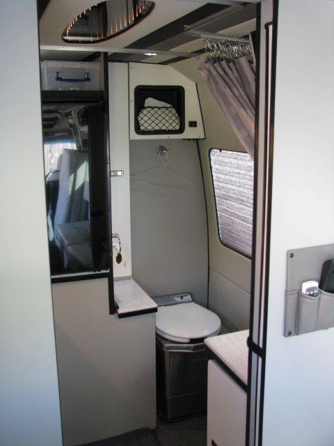 Sprinter Van Bathroom Kit: Prestige Traveler :: Luxury, Travel