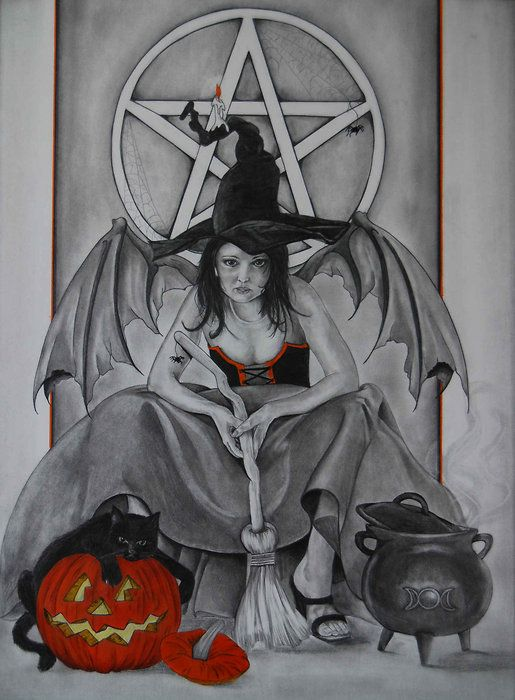Samhain 2010 Altar by KittieWarner on deviantART | Samhain