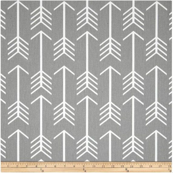 1 Yard Gray Arrow Fabric Premier Prints Storm And White Arrow Fabric Prints Grey Pillow Covers