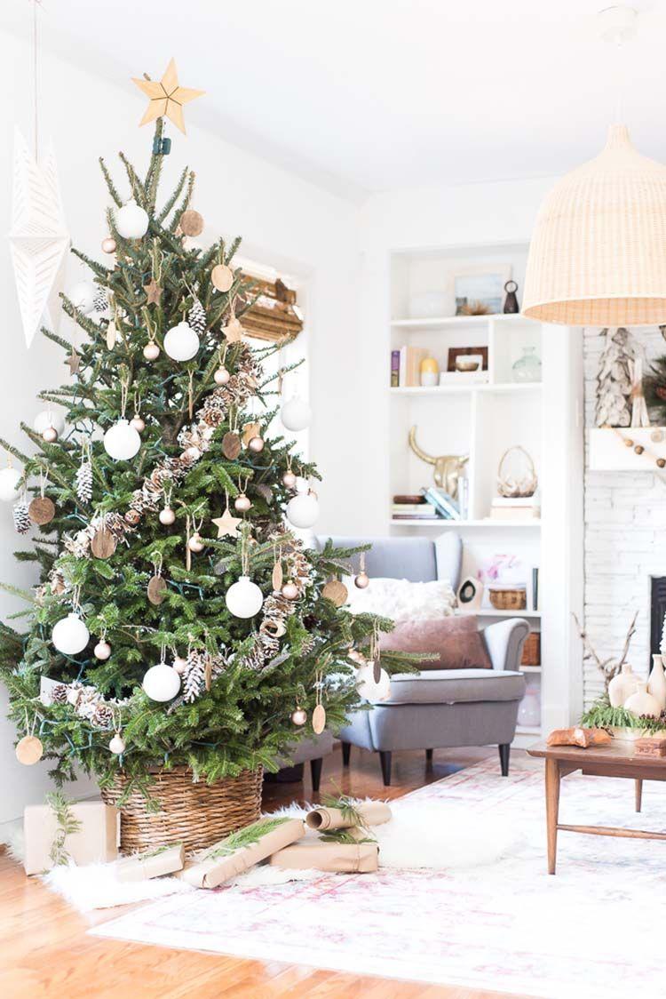30 Schonsten Weihnachten Geschmuckten Baumen Fur Einige