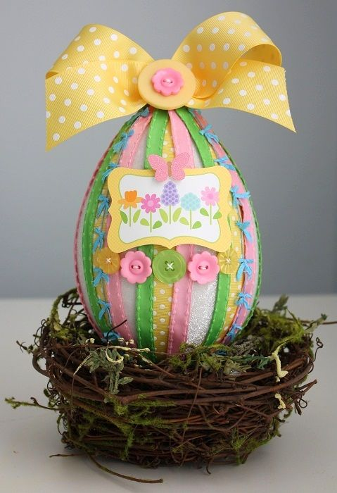 Paper mache easter egg may arts wholesale ribbon company by paper mache easter egg may arts wholesale ribbon company by shellye mcdaniel matty chuah negle Choice Image