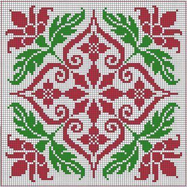 Biscornu chart: | etamin isleri | Bordures de point de croix, Motifs de couture et Biscornus