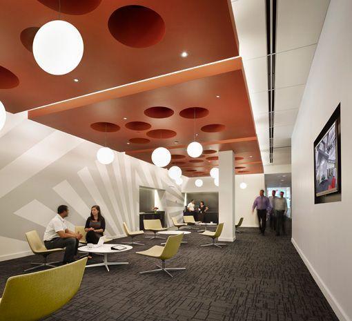 Verizon Technology Innovation Center Innovation Centre Interior Architecture Design Corporate Interiors
