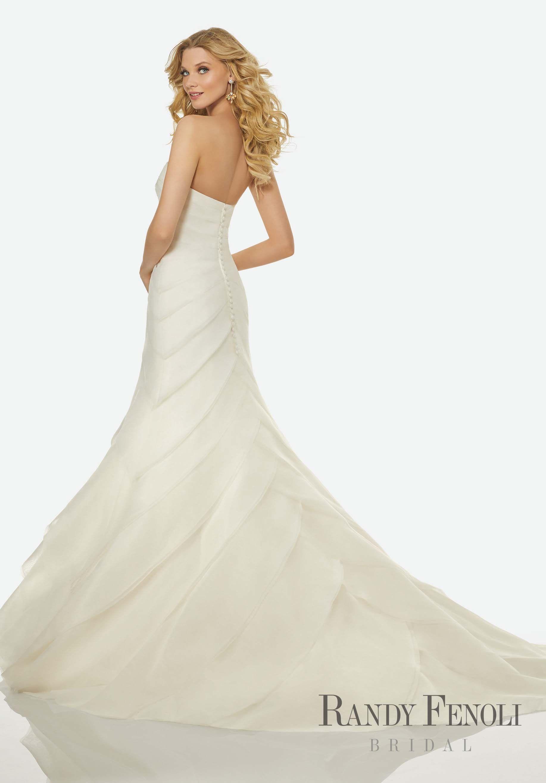 Randy fenoli bridal celina wedding dress style bias cut