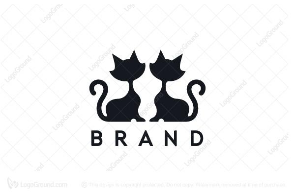 Cat Logo Mannequin Logo Cat Logo Business Women Fashion Logos
