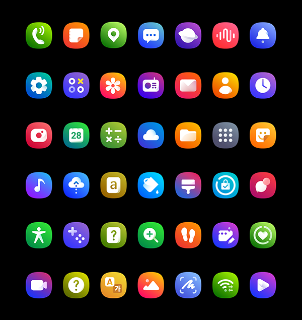 Samsung Galaxy M Series Icon Design Icon Design Samsung Galaxy