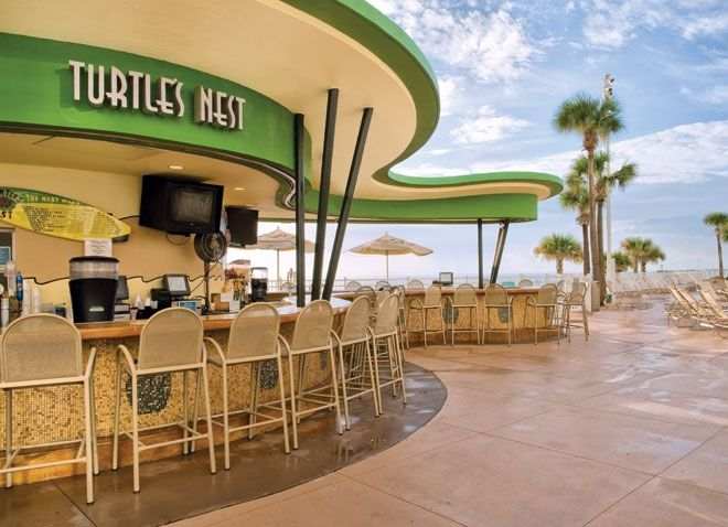 Turtle S Nest Bar Wyndham Ocean Walk Pool