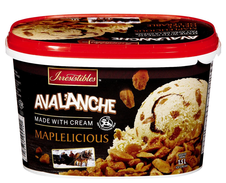 METRO BRANDS, G.P. Irresistibles Avalanche ice cream