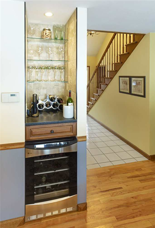 Small Kitchen Design With Nook Gorgeous Specialty Spaces The Small Nook In This Kitchen Was 6630 4