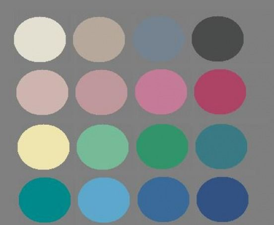 cool summer color pallette: neutrals: light-med gray, charcoal gray /blue, greyed navy, grey blue, soft white, pewter soft or mushroom beige, stone, pearl, taupe, cocoa, rose-brown