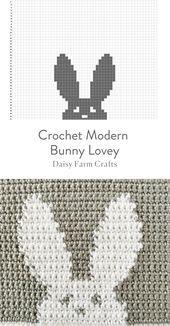 Photo of Kostenlose Muster – Häkeln Sie moderne Bunny Lovey Decke