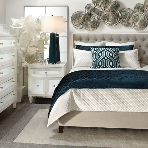 Prague Bed From Z Gallerie Mirrored Bedroom Furniture Affordable Modern Furniture Furniture