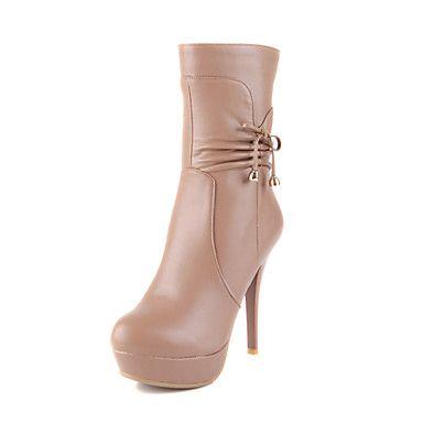 kvinners sko plattform stiletto hæl mid-kalv støvler flere farger tilgjengelige – EUR € 34.99