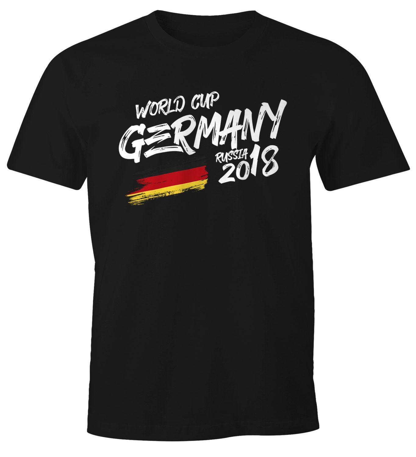 Herren Fan Shirt Deutschland Wm 2018 Fussball Weltmeisterschaft Trikot Flagge T Shirt Fussball Shirt Deutschland Shirt Fan Trikot Deutschland Trikot Moonworks Deutschland Trikot Weltmeisterschaft Fussball Shirt