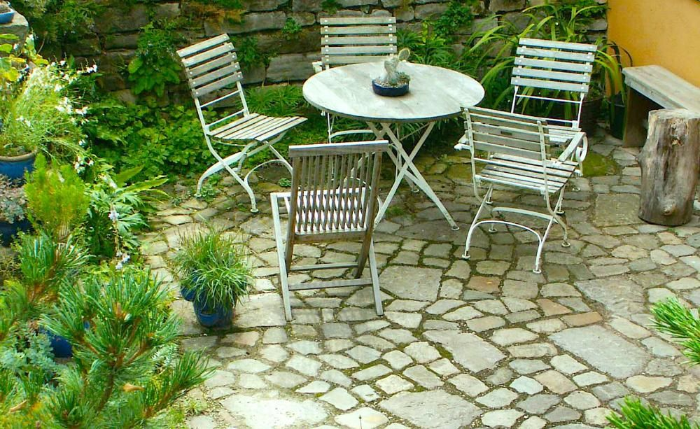 Mit Naturstein den Garten gestalten Garten gestalten - garten mit natursteinen gestalten