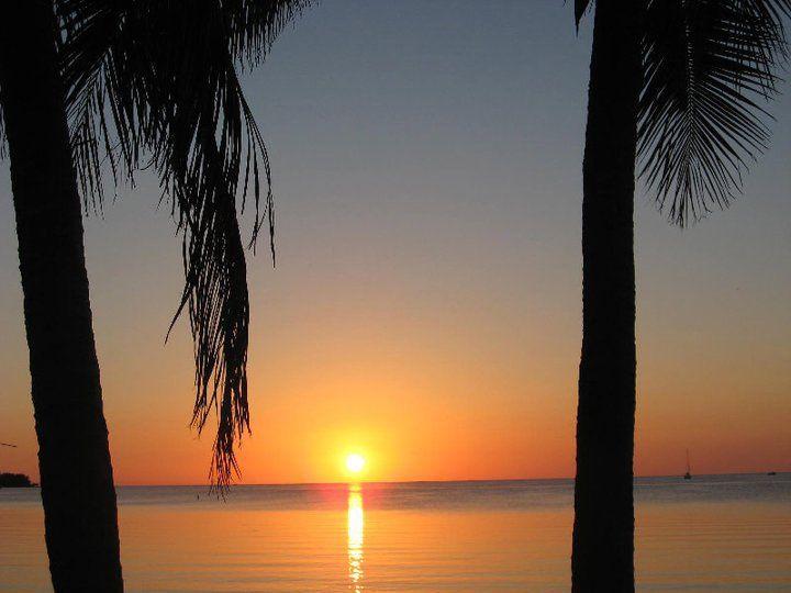 Sunset in Florida, USA