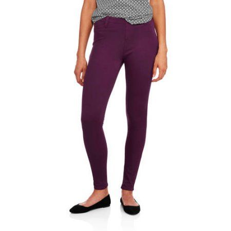 83d3cc7069f1a Faded Glory Women's Full Length Knit Color Jeggings | I want that in ...