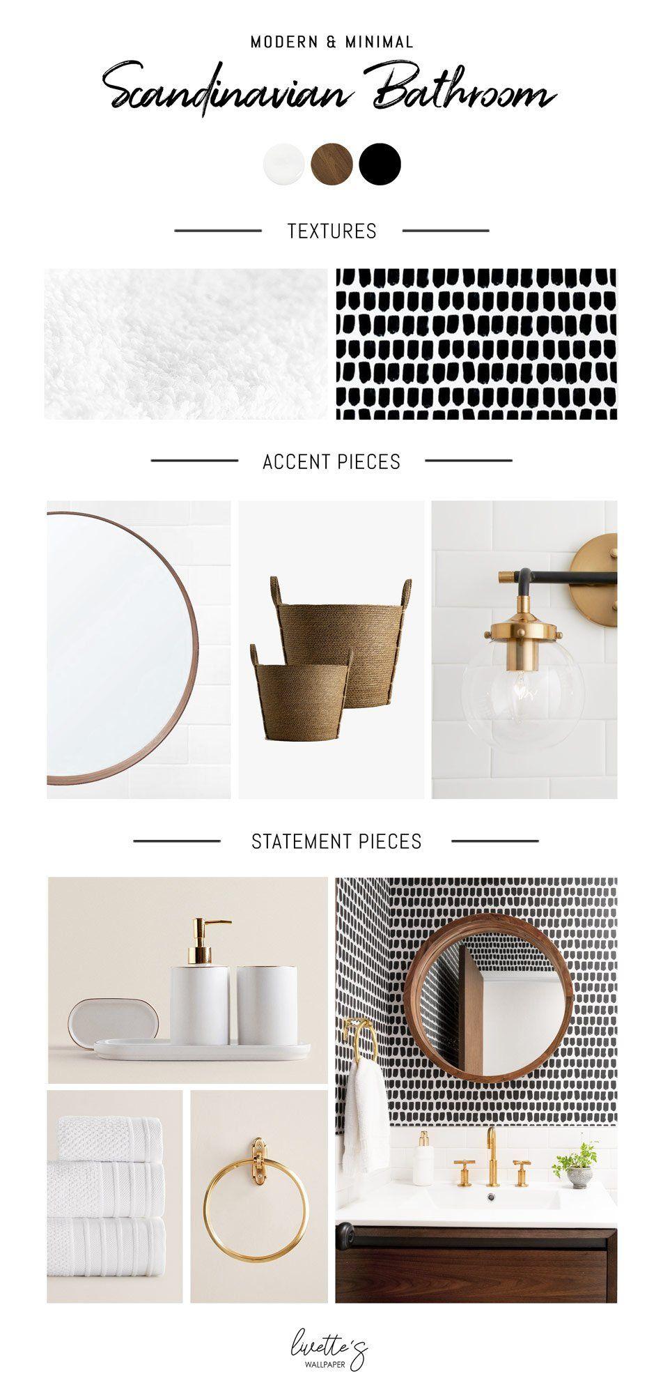 Photo of Modernes & minimales skandinavisches Badezimmer | Mood Board Montag