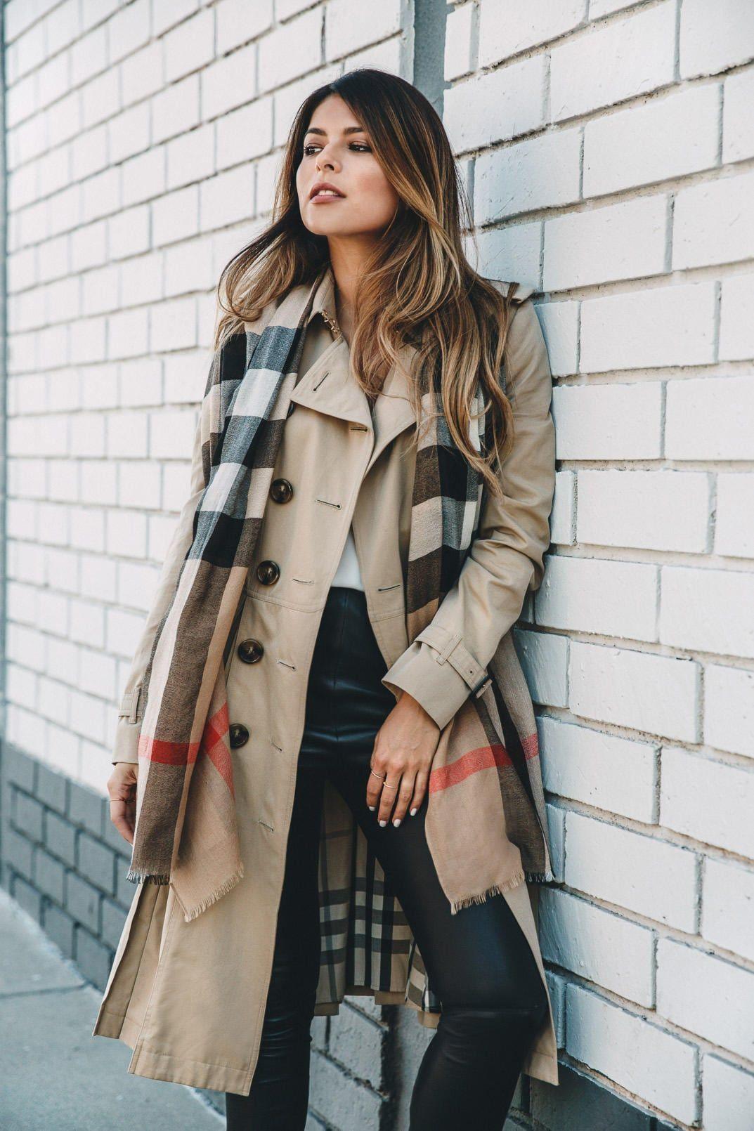 Your Top 3 Outerwear Staples For Fall The Girl From Panama Trench Coats Women Fall Fashion Coats Coat Fashion [ 1610 x 1073 Pixel ]