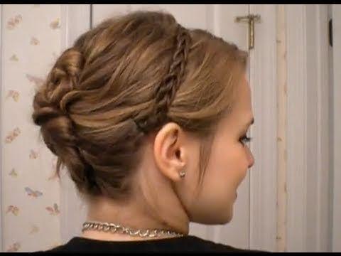 rope braid updo