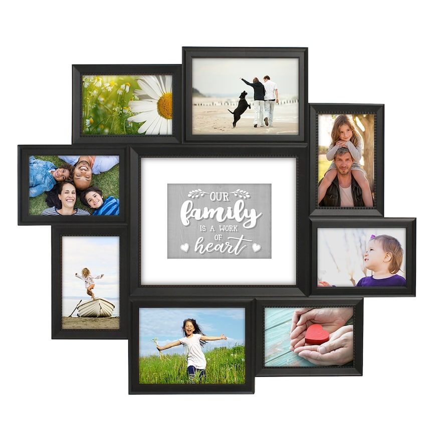 Malden 9 Opening Family Collage Frame In 2020 Family Collage
