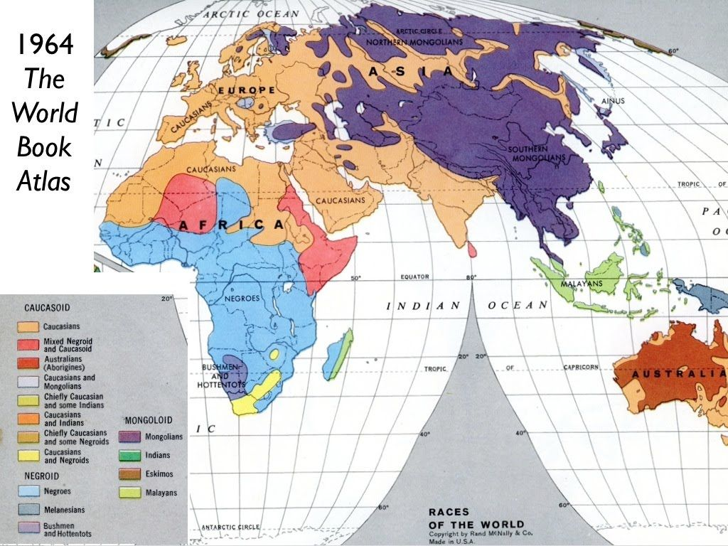 Races of the world 1964 world book map world harti pinterest races of the world 1964 world book map world gumiabroncs Image collections
