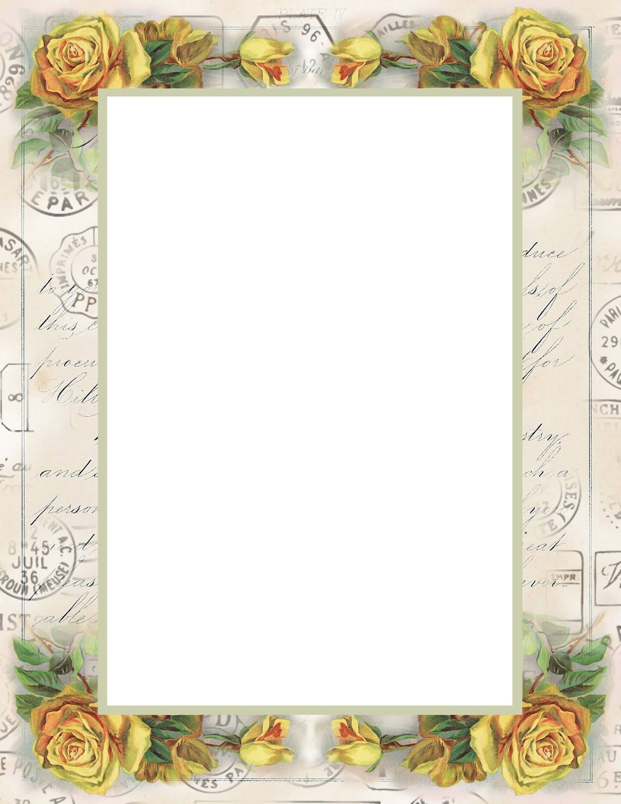 Free Printable Backgrounds Stationery | Lilac & Lavender ...