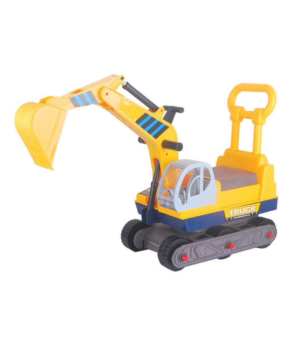 Look at this Vroom Rider Six-Wheel Excavator On Wheels Ride-On on #zulily today!