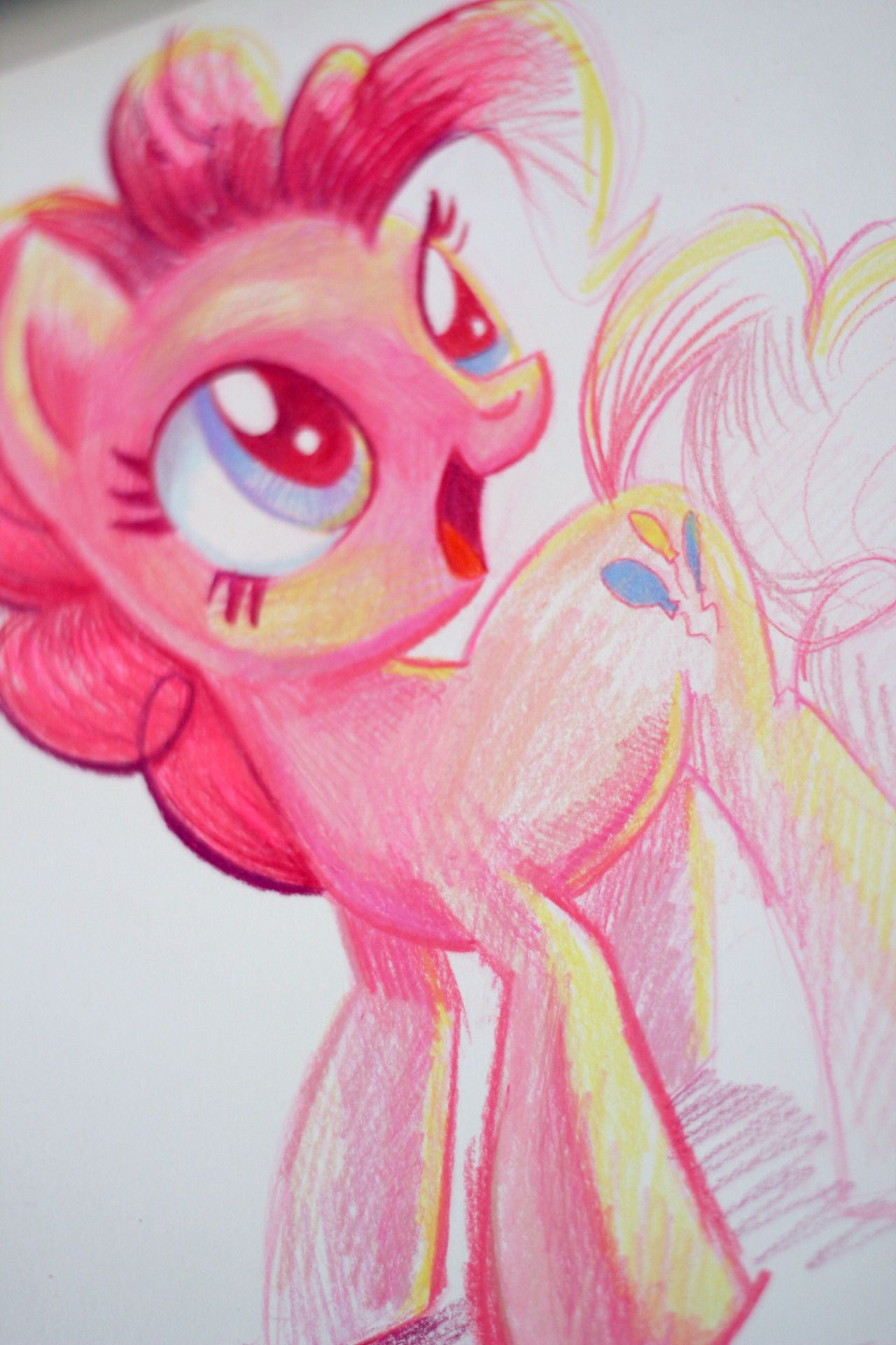 Apricot Mantle -- Pinkie Pie MLP