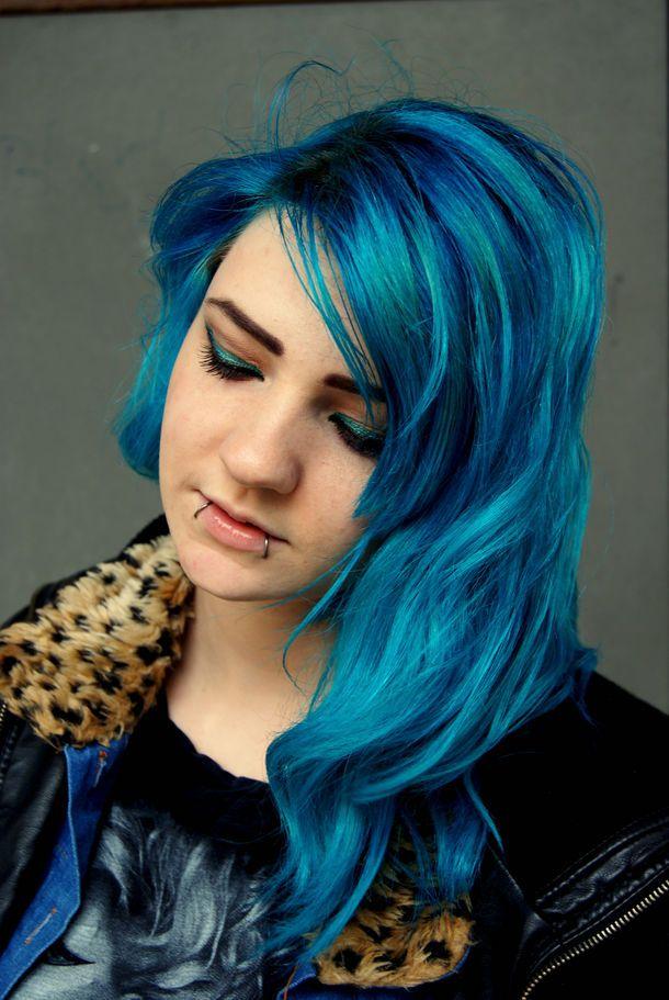 Voodoo Blue Turquoise Hair