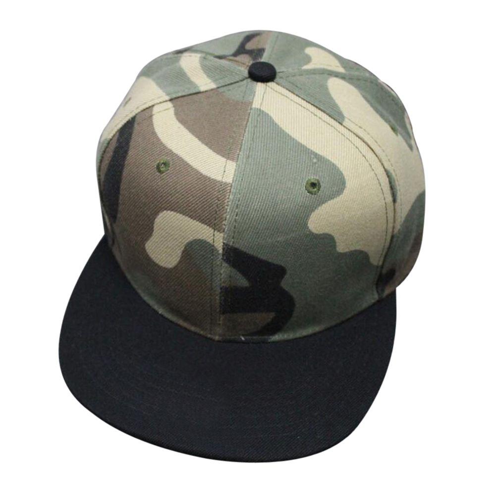 camouflage bone snapback ladies gorras hiphop baseball cap summer ...