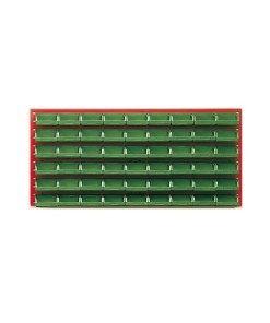 Pannello porta 54 contenitori bocca di lupo plastica ...