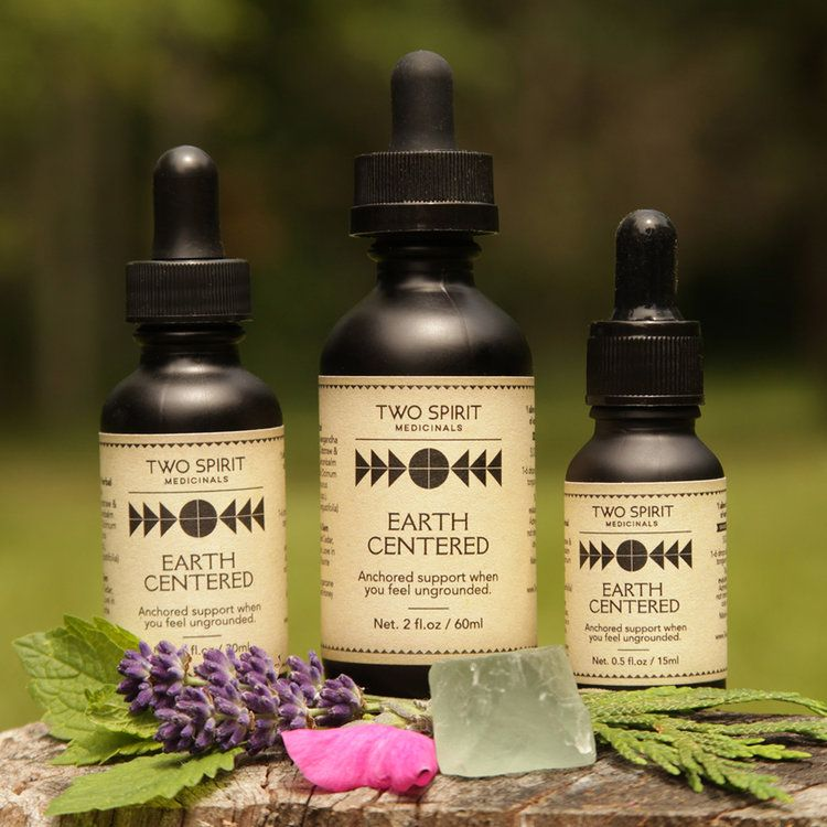 Earth Centered Tincture Two Spirit Medicinals Tinctures Two Spirit How Are You Feeling