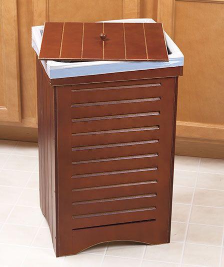 wooden kitchen trash bins want pinterest trash bins wooden rh pinterest com