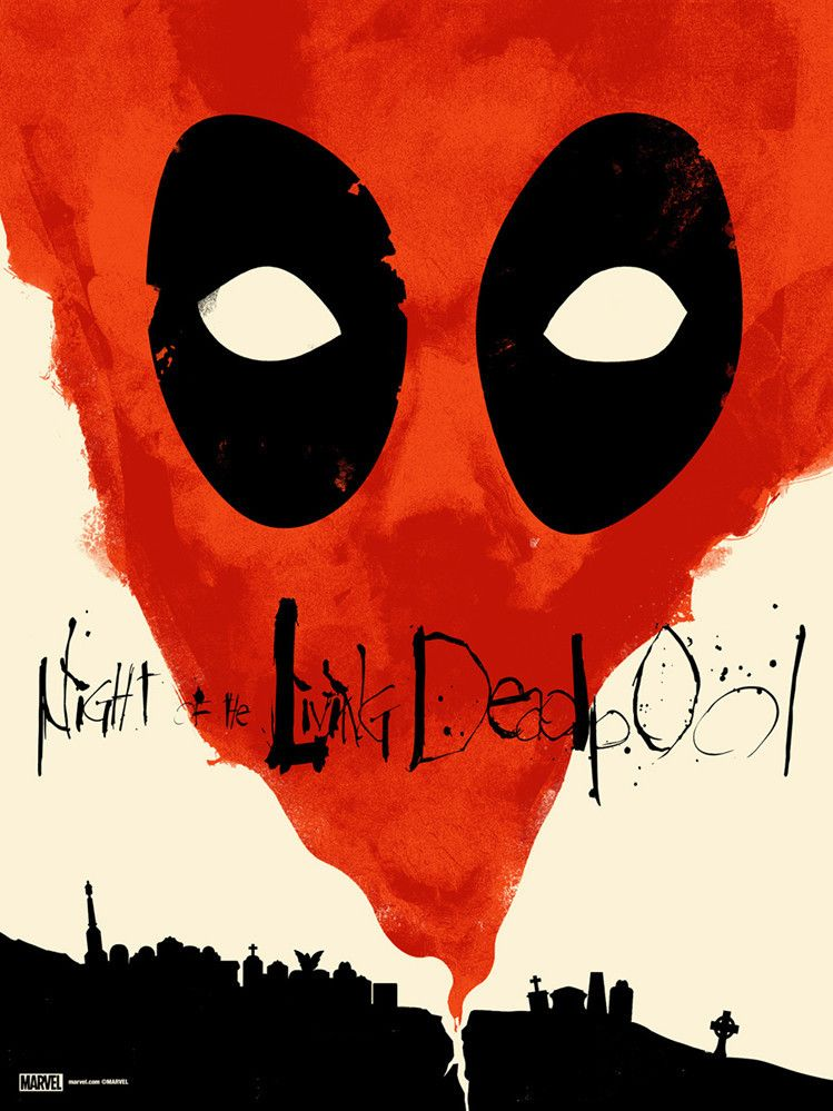 Night of the Living Deadpool 2 by Jay Shaw